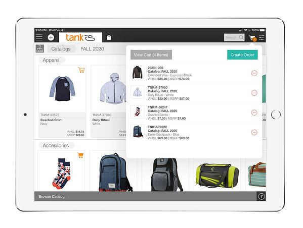 An around-the-clock portal and ordering tools puts power in the hands of your retailers.