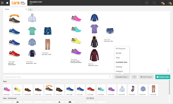 Envoy B2B delivers a powerful but simple-to-use Merchandising tool for visualizing smarter buys.